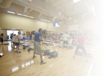 Group Exercise at Cincinnati Sports Club